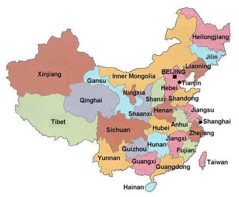 Map Of China China Map Maps Of China